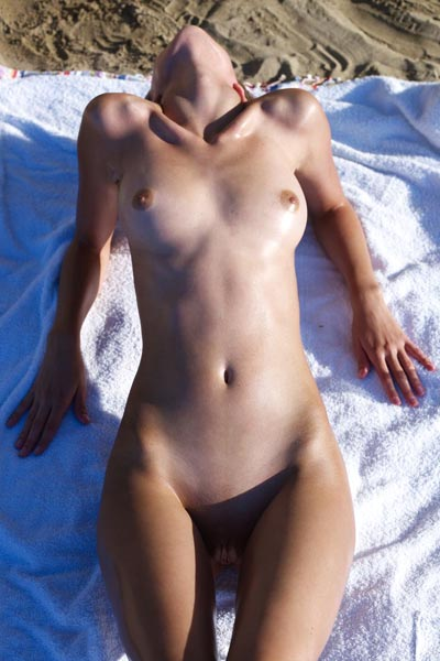 Nude In Sitges