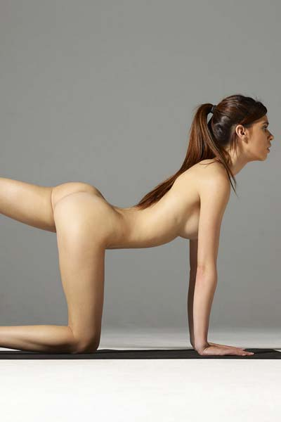 Nude Yoga at ist finest