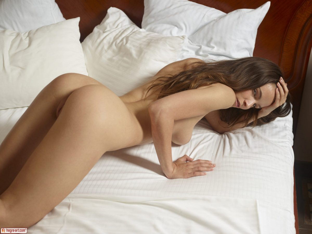 On bed nude Dirty Bedroom