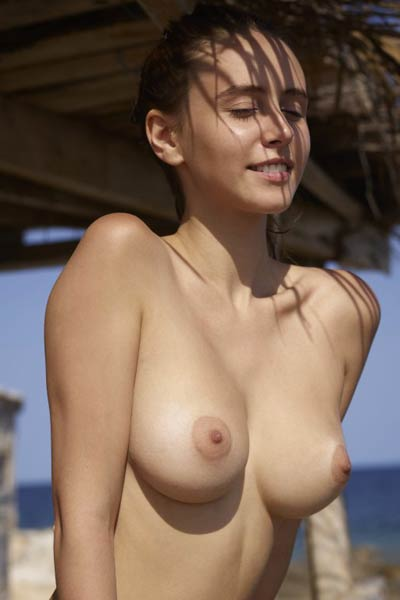Her gorgeous round and perfect tits are the best sexual asset