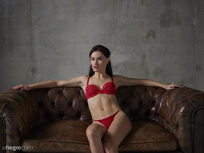 Grace in Red Hot from Hegre Art