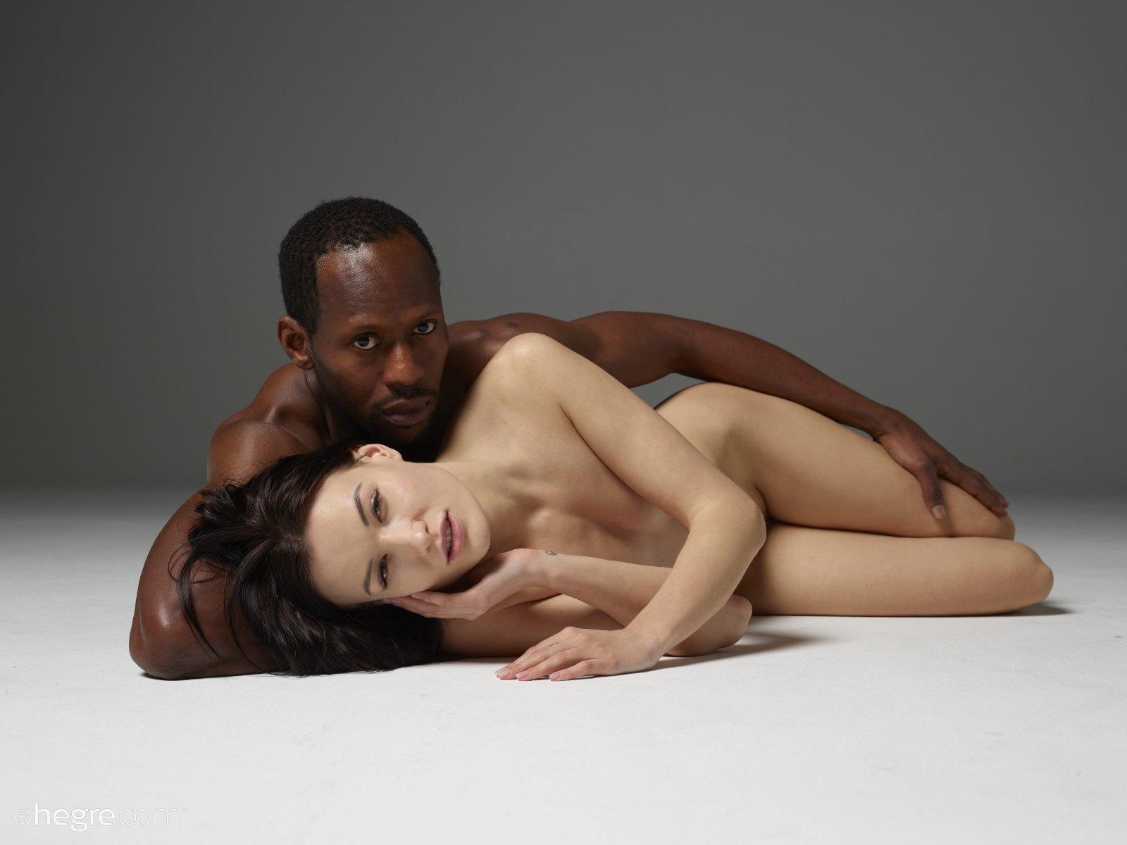 interracial nude art