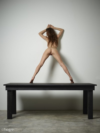 Veronika V in Table Top Nudes from Hegre Art