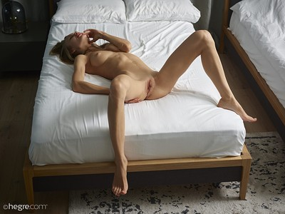 Jolie in Bed Time Nudes from Hegre Art