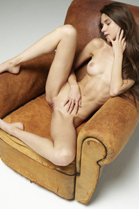 Sweet young Leona lets us see every inch of her gorgeous skinny body